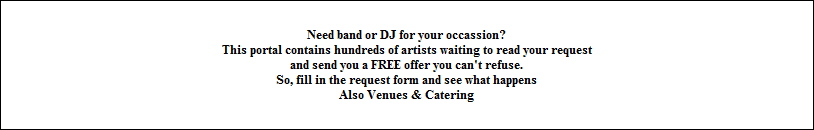 Need band or DJ for your occassion?